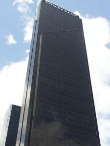 Tower Bank Panamá, en Calle 50, Centro Financiero de la Ciudad.