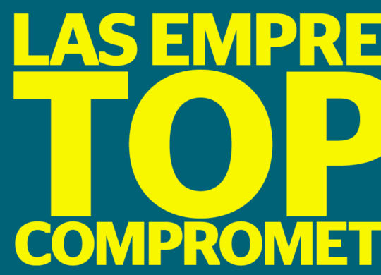 Empresas mas comprometidas en Latinoamérica ranking top + America