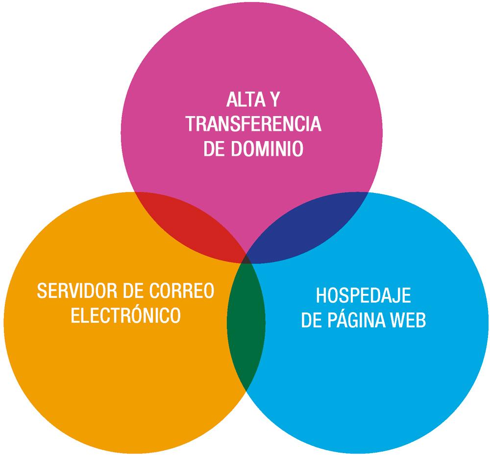 centraliza hosting dominio
