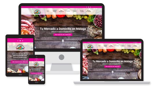 Proyecto Mercado de Bailén Málaga